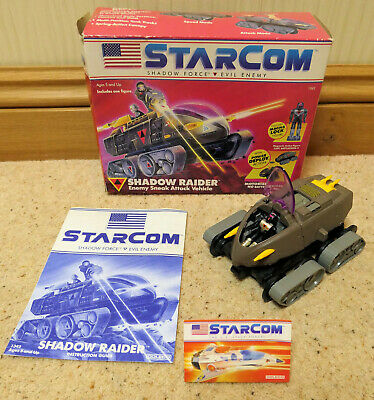 STARCOM SHADOW RAIDER Complete And Working In Original Box Vintage 1987 Coleco • 18£
