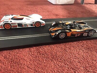 Scalextric Set With Toko Le Mans And A Lola Car • 35£