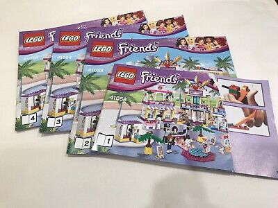 Lego Friends 41058 INSTRUCTION MANUALS ONLY • 5.95£