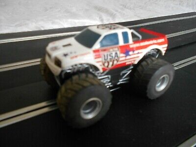 Scalextric Car Monster Truck Usa   Tested & Working  • 7£