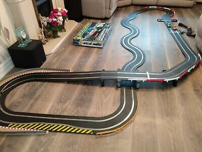 EXTENDED Scalextric SPORT Everything Included, 2 FAST Cars. TESTED. Great Fun!!! • 37£