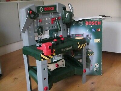 Bosch Mini Junior Workbench With Tools Ideal Christmas Gift • 7.50£