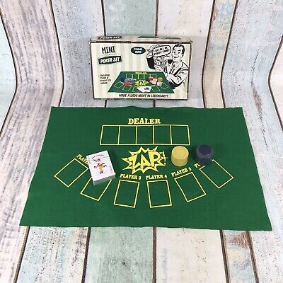 Mini Poker Set 50 Fifty Concepts Zap Contents SEALED UNUSED • 4.24£
