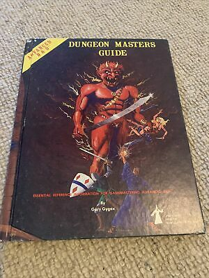 Dungeon Masters Guide 1979 Advanced D&D • 6£