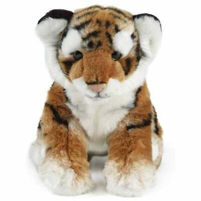 Living Nature Tiger Sitting Soft Toy 35cm • 26.80£