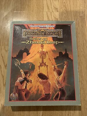 Ad&d Forgotten Realns Ruins Of Zhentil Keep • 12.50£