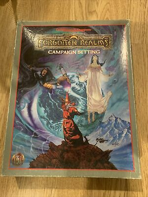 Ad&d Forgotten Realms Campaign Setting 2nd Edition • 12.50£