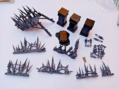 Warhammer & LotR Scenery (Warcry, Age Of Sigmar, Middle Earth SBG) • 10£