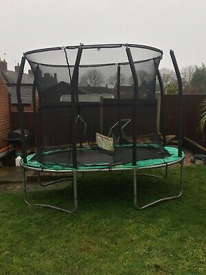 Oval Shaped Outdoor Trampoline • 30£