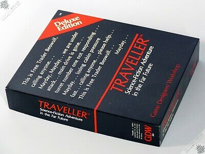 Traveller Deluxe Edition Gdw Sci-fi Rpg Role Playing Game Unused Vintage • 120£