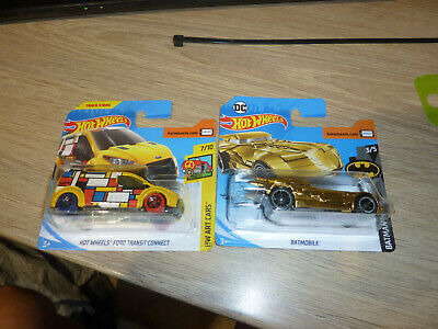 Hot Wheels Batman And Ford Transit Connect Mint Carded Sealed • 4.99£