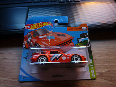Hot Wheels Mazda RX-7 MINT CARDED • 0.99£