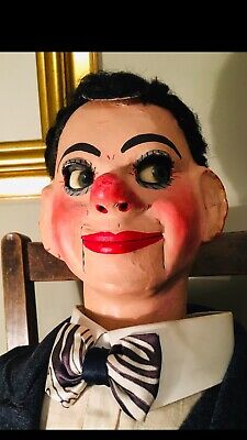 A Quality Rare Vintage Ventriloquist Dummy By The Famous Herbert Brighton C1950s • 1,395£