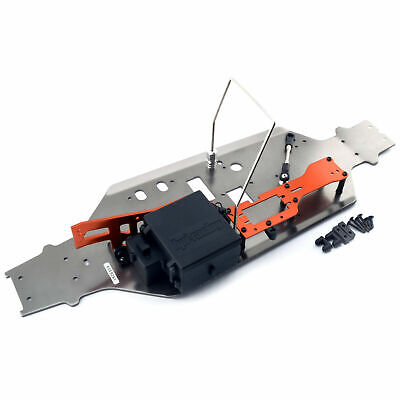 HPI Trophy 4.6 Truggy Chassis 101178 Receiver Box, Roll Bar Upper Chassis - New • 39.99£