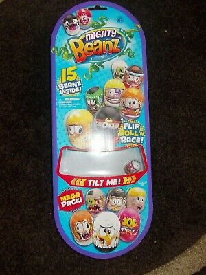 Mighty Beanz 15 Bean Mega Collectors Pack Series 1 NEW UNOPENED Free Postage • 12.99£