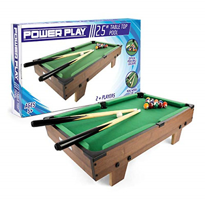 Power Play Table Top Pool Game, 25 Inch • 32.88£
