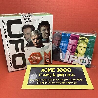 Unstoppable UFO Series 3 Basic Base Set Of 54 Trading Cards + WHITE BOX Only • 15£