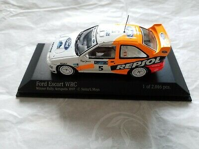 RARE Minichamps Ford Escort Cosworth WRC Acropolis 1997 C. Sainz Limited Edition • 48.95£