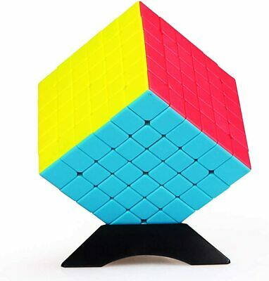 New Magic Cube Stickerless Puzzle Super Smooth Fast Speed Cube 6X6X6 Toy QiYi • 12.25£