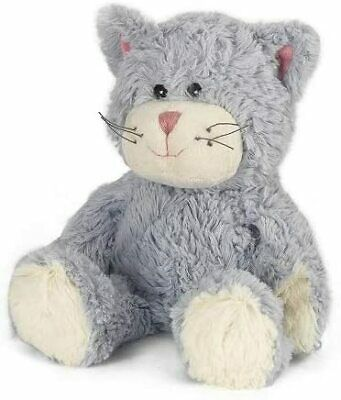 Christmas Warmies Cozy Plush Blue Cat Fully Microwavable Toy Gentl Fast Shippin • 15.02£