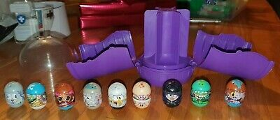 Mighty Beanz Slam Pack - 9 Beanz Included. Purple Capsule Container Opens Up • 7.99£