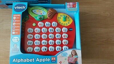 VTech Alphabet Apple | Teaches Phonics, Alphabet, Spelling, Words, Numbers • 18£