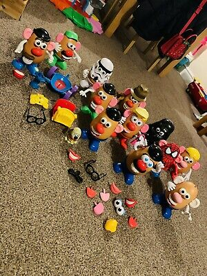 Huge Mr Potato Head Bundle Inc Indiana Jones, Spiderman, Dog, Train, Star Wars • 50£