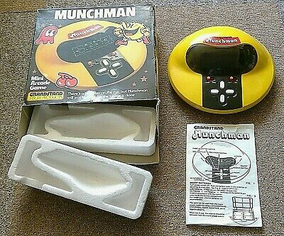 Grandstand Munchman Tabletop PacMan Game ** BOXED ** • 150£