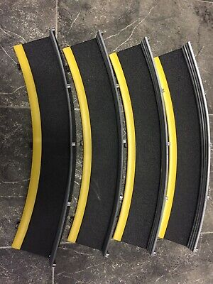Scalextric Sport Digital Track Borders And Barriers 4 X Outer Curves • 8.99£