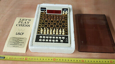 Vintage Acetronic Travel Chess Computer Set 1978 - Red LED Display  • 49.50£