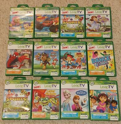 LeapFrog LeapTV Educational Games Leap TV Reading Maths Science Creativity  • 12.95£