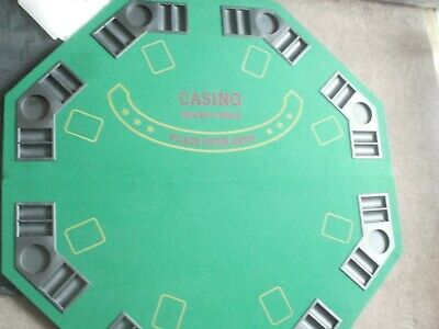 Poker Table / Blackjack Table Folding Portable Cards + Chips Included  • 30£
