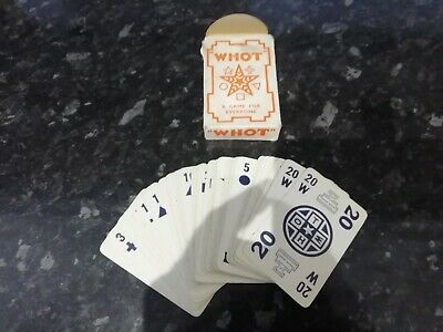 Vintage Whot Card Game By Waddingtons • 10£