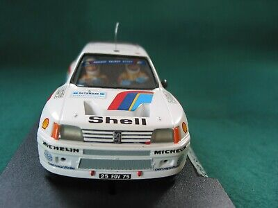 Top Slot Ts15  Peugeot 205 T16  Rtr  Factory Finish Very Rare Ninco Chassis • 125£