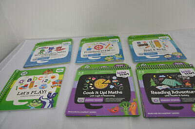 Leap Frog Talking Books For Leap Start Bundle 3-6 & 4-6 5 Books 1 Sampler  • 22£