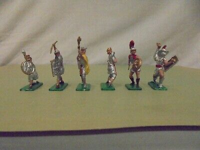 Crescent Toy Soldiers - 6 X ROMANS - FULL SET- EXCELLENT To MINT Condition • 24.99£