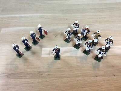 Phoenix Model Developments Parade Series Royal Marines Band Figures. 30mm. • 37£