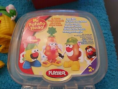 Rare Playskool Mr Potato Head Carry Case 2+ Hasbro Toys Kids Learning Toy Story • 20£