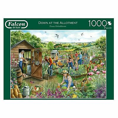 Falcon 11265 Down At The Allotment 1000 Piece Jigsaw • 13.99£