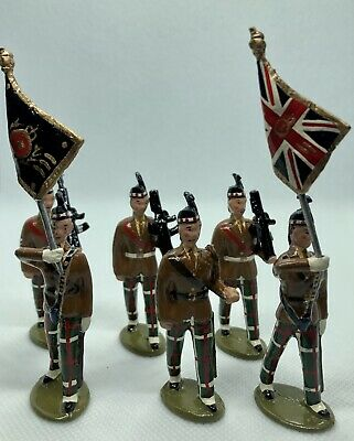 6 Lead Soldiers Mniatures • 72£