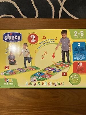 Chicco FIT N FUN HOPSCOTCH PLAYMAT Toddler Child Interactive Sports Toy BN • 16.60£