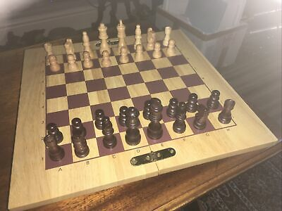 Used Wooden Chess Set • 10.50£
