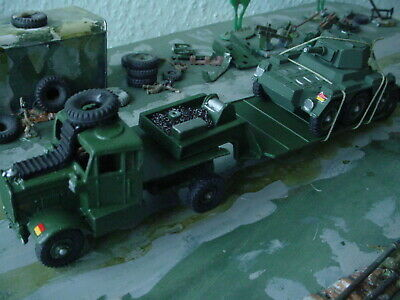 Dinky Military Army Scammell Vehicle Transporter And Vehicle Code3 • 25£