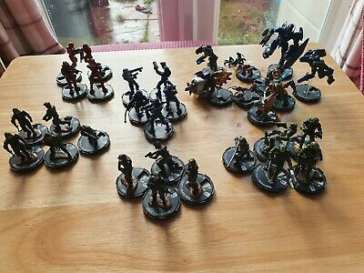 Heroclix/actionclix , Halo Miniatures Approx 30 Figures • 19.50£