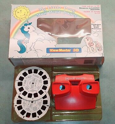 Vintage 3d View Master My Little Pony 21 3d Images Boxed • 8.50£