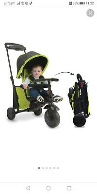 SmarTrike 500 7 In 1 Folding Tricycle • 50£
