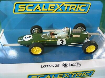 Scalextric Ltd Edition  C4083 Lotus 25 Jack Brabha Monaco 1963 World Champ Bnib  • 39.99£