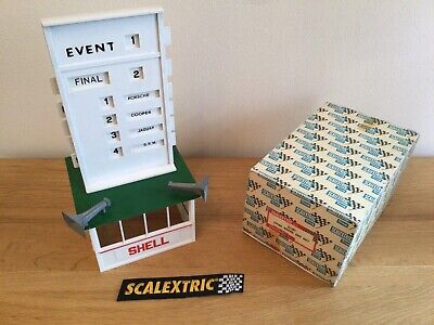 Scalextric Vintage Event Board & Hut  -  A201  - Excellent Condition  • 25.95£
