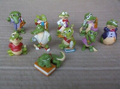 Vintage Collectable Croco Figures • 7£