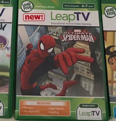 Leapfrog Leap TV Game : Ultimate Spiderman Game For LeapTV • 3£